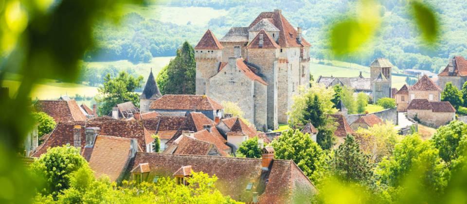 Panorama village du Périgord