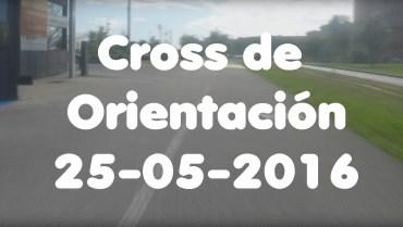 Cross de Orientación en el parque de Las Llamas. El vídeo.