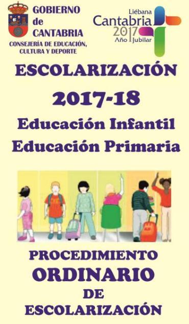 ESCOLARIZACIÓN 2017-2018. LISTADOS PROVISIONALES.