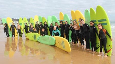 «CURSO DE SURF SARDINERO»