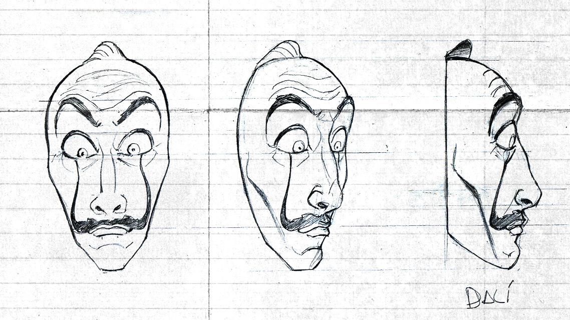 Mascara De La Casa De Papel Para Imprimir