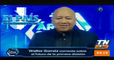 Comentarista deportivo Walter Gómez que golpea a su familia