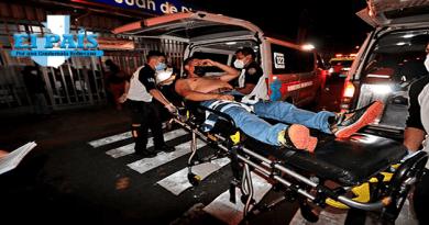 Imagen de herido en ataque armado en la sexta avenida