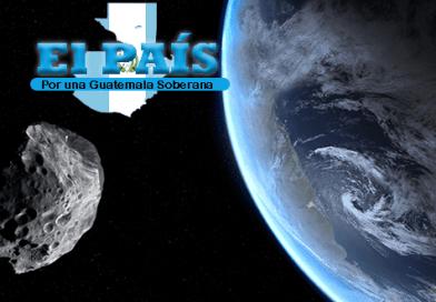 Asteroide a punto de chocar con la tierra