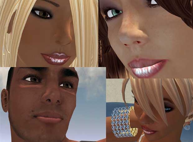 Los 13 avatares más bellos de 'Seconf Life'-