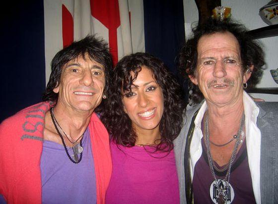 Ana Moura y los Stones