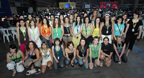 Las chicas de la Campus Party