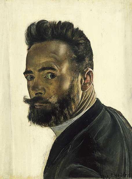 <i>Autorretrato parisino </i>(1891), de Ferdinand Hodler