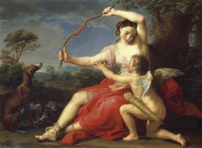 'Diana y Cupido' (1761)