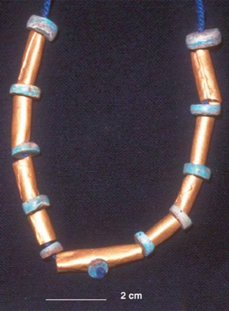 El collar ha aparecido en Jiskairumoko, en la cuenca del Lago Titicaca (Perú)