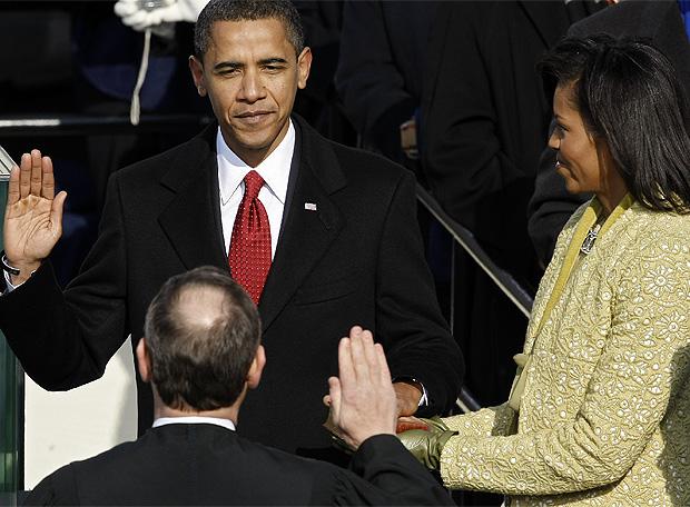 Obama jura su cargo