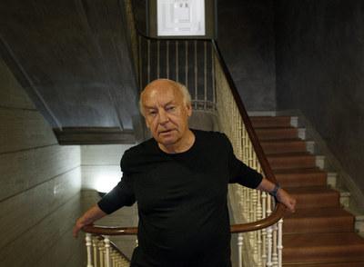El autor uruguayo Eduardo Galeano