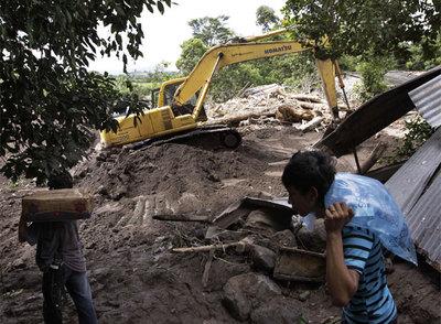Desastre en El Salvador