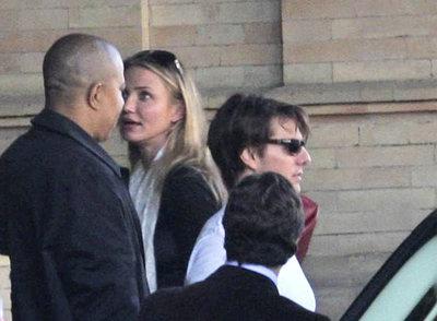 Cameron Diaz y Tom Cruise