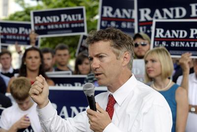 Rand Paul, candidato republicano al Senado