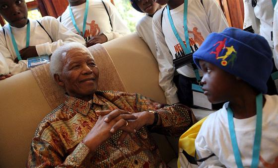 Nelson Mandela - Ampliar imagen