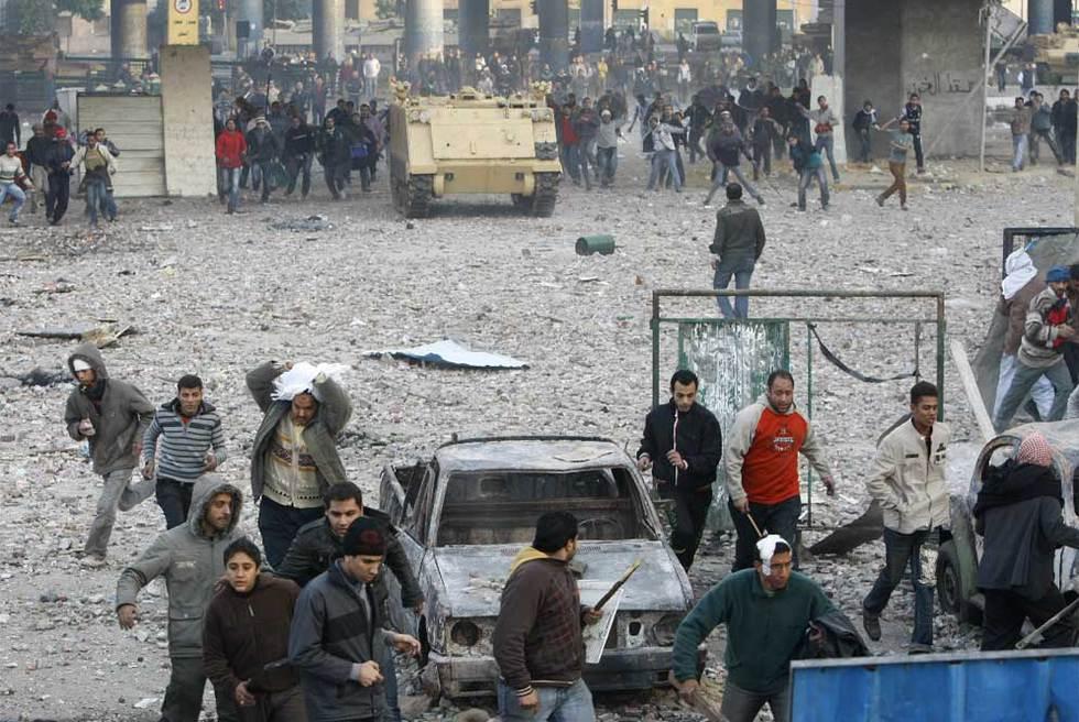 La batalla campal continúa en El Cairo