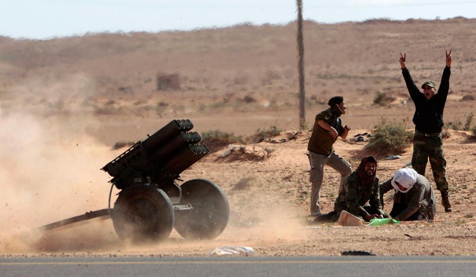 La batalla de Bin Yauad  - Lanzacohetes