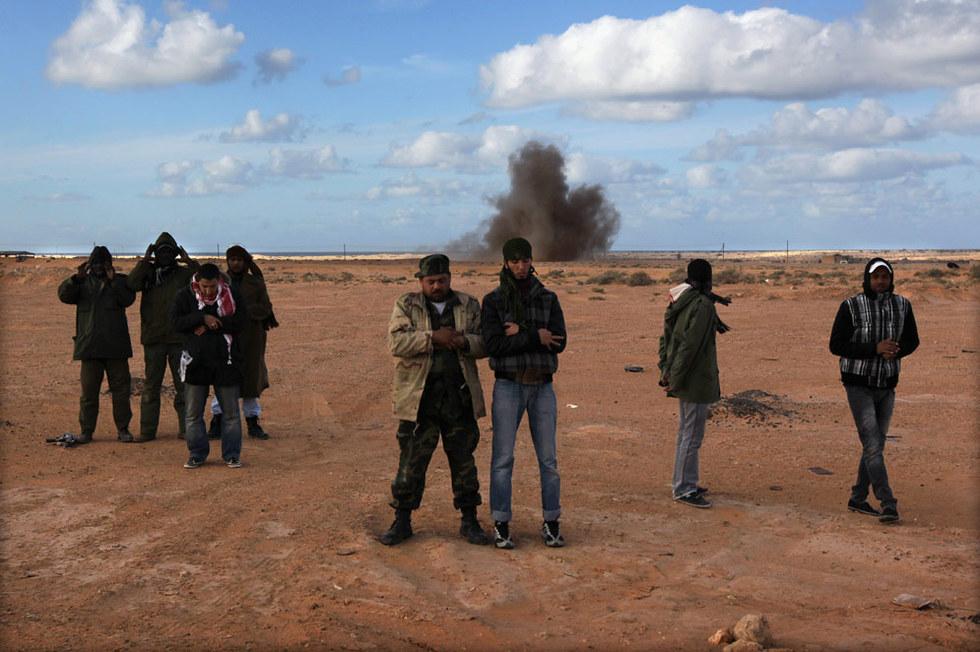 La batalla de Bin Yauad  - Oración entre bombas