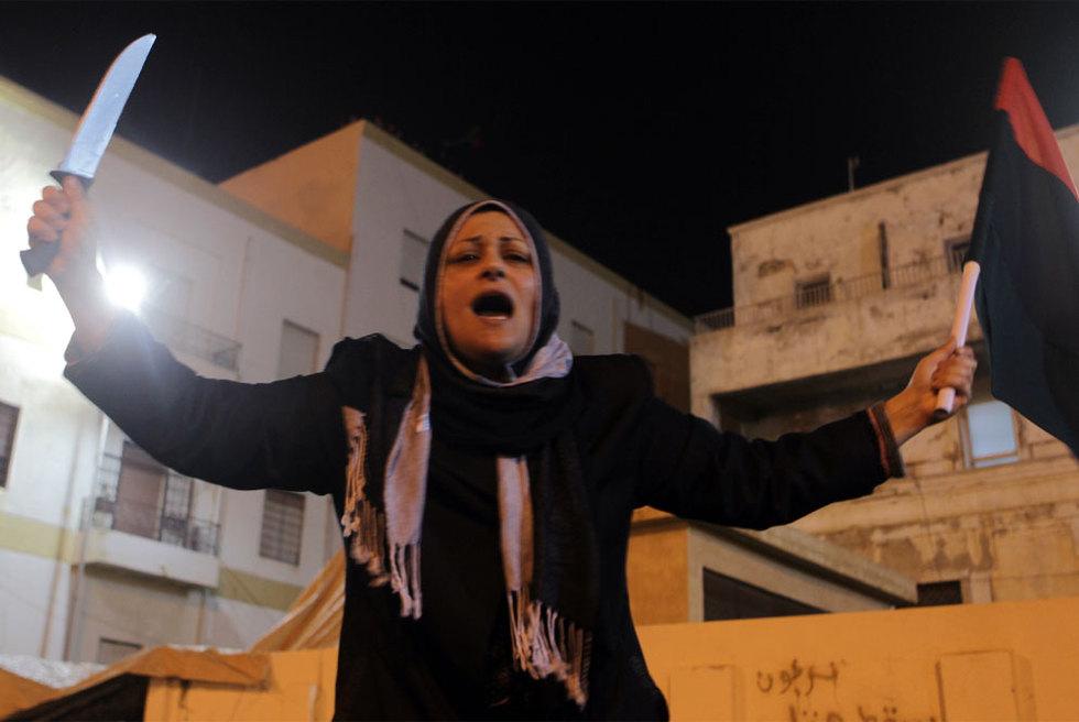 Júbilo en la revuelta libia contra Gadafi  - Clamor en Bengasi