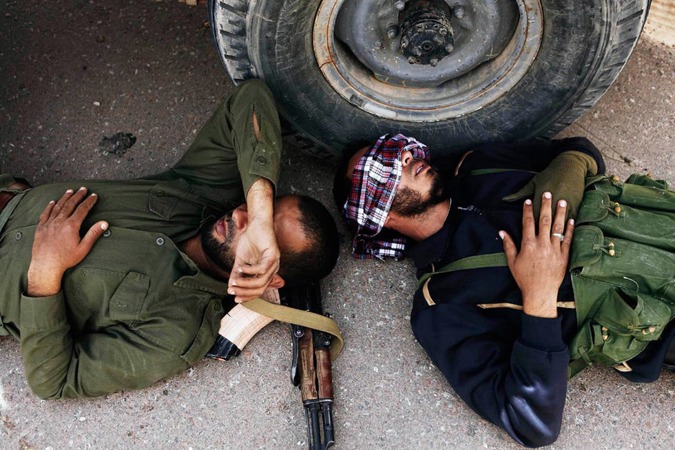 Operación 'El Amanecer de la Odisea' en Libia  - Descanso