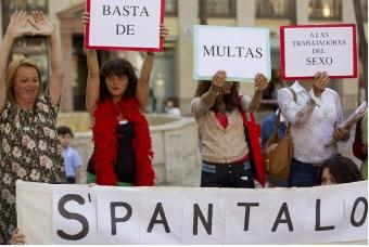 Las prostitutas de Málaga se hacen visibles