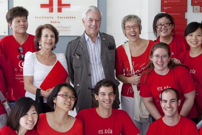 Mario Vargas Llosa in Beijing