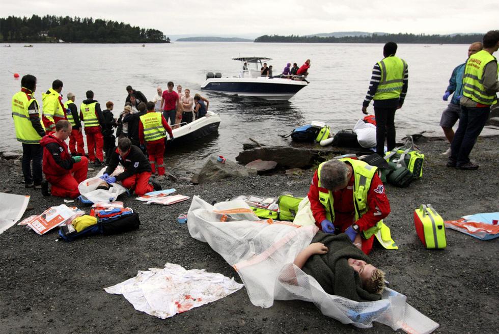 Al menos 80 muertos en Utoya