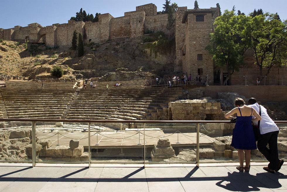 Teatro Romano de la capital de la Costa del Sol