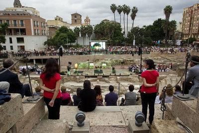 Málaga recupera el Teatro Romano