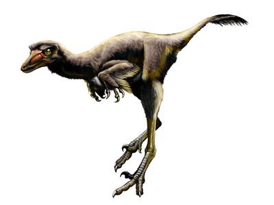 Un dinosaurio herido