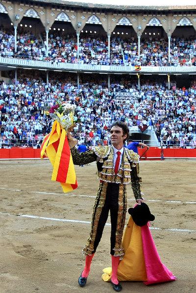 José Tomás en la última corrida de Cataluña