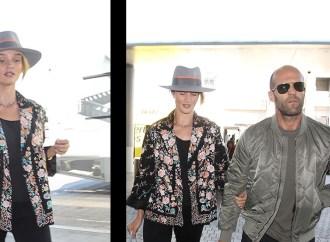 Jason Statham Y Rosie Huntington
