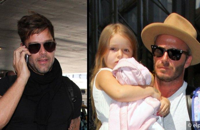 ¿Qué tienen en común David Beckham y Ricky Martin?