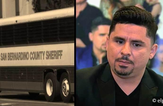 Larry Hernández deja la cárcel de Rancho Cucamonga