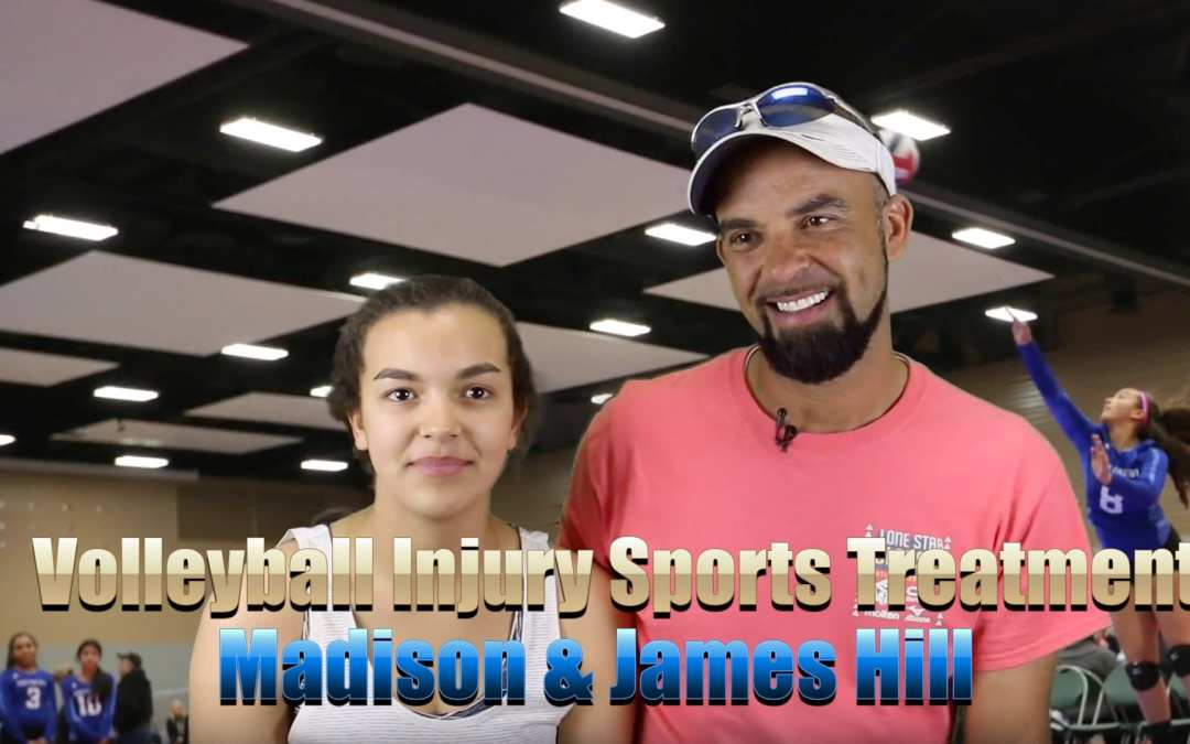 Volleyball Injury Sports Treatment El Paso, TX | Madison and James Hill