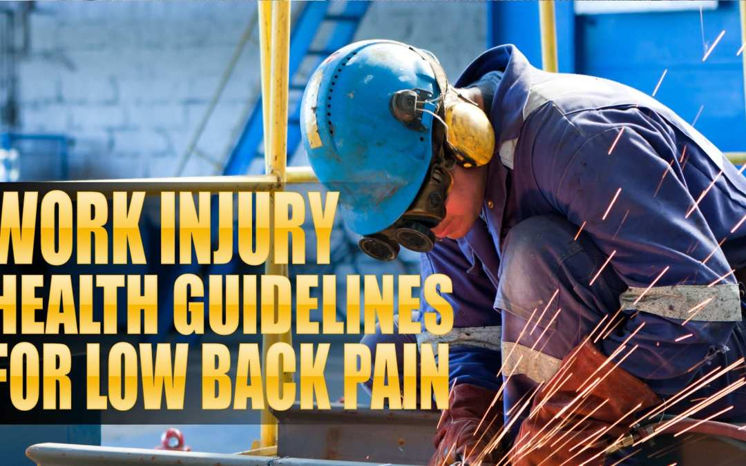Work Injury Health Guidelines for Low Back Pain in El Paso, TX