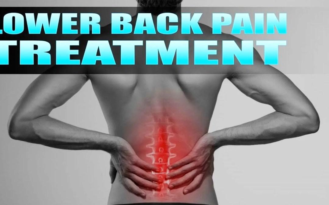 Tratamiento quiropráctico para el dolor de espalda baja | El Paso, TX. | Vídeo