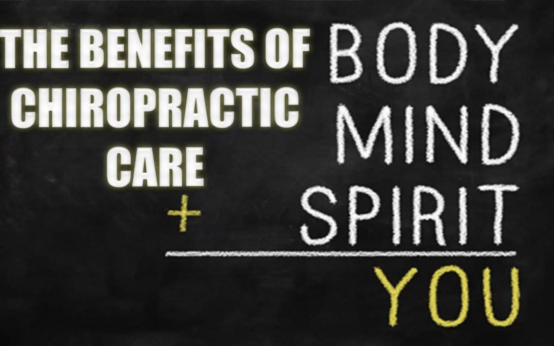 Beneficios de salud de la atención quiropráctica