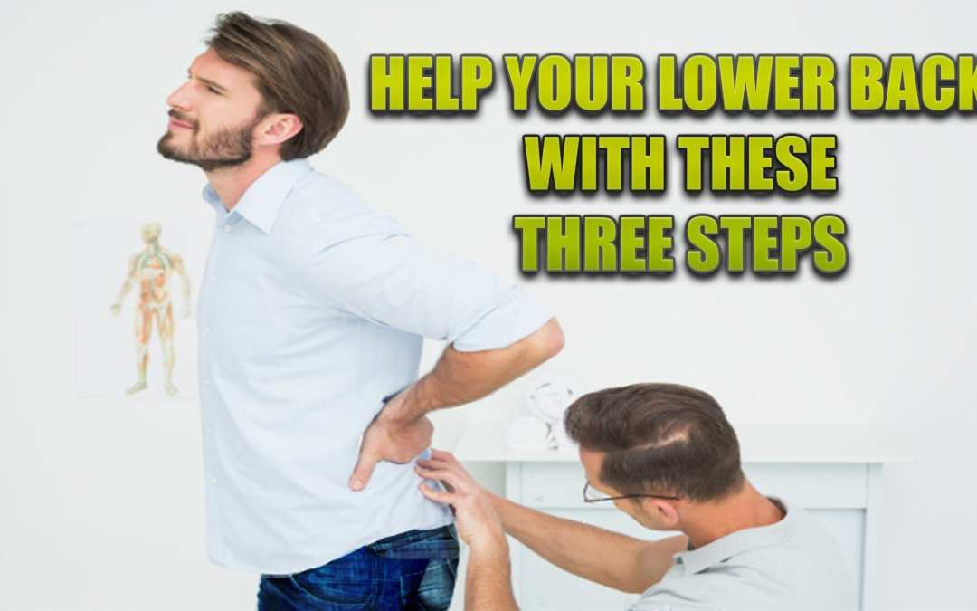 Tre passi per aiutare la schiena