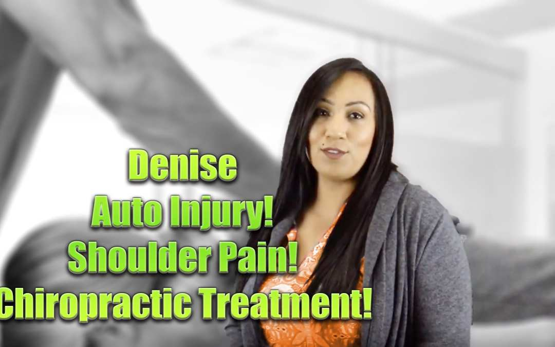 Shoulder Pain Chiropractic Treatment | Video