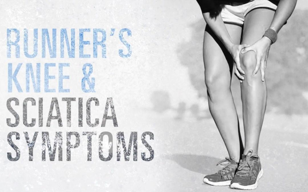 Sintomi del ginocchio e della sciatica del corridore