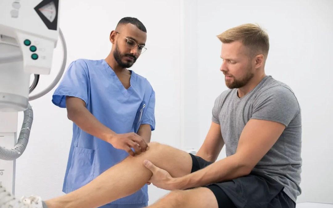 Terapia del dolore chiropratico al ginocchio El Paso, Texas