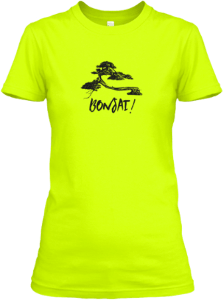 bonsai women's tshirt