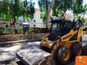 L'Ajuntament d'Alfafar mejora el asfaltado y accesibilidad de la Av. Mediterráneo antes de las Fiestas Populares del Barrio Orba