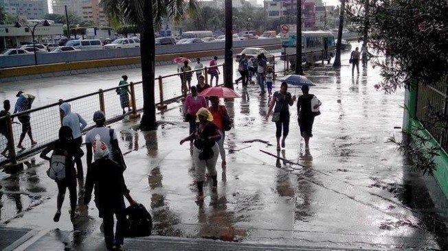 Onamet: Aguaceros locales y tormentas eléctricas en varias provincias