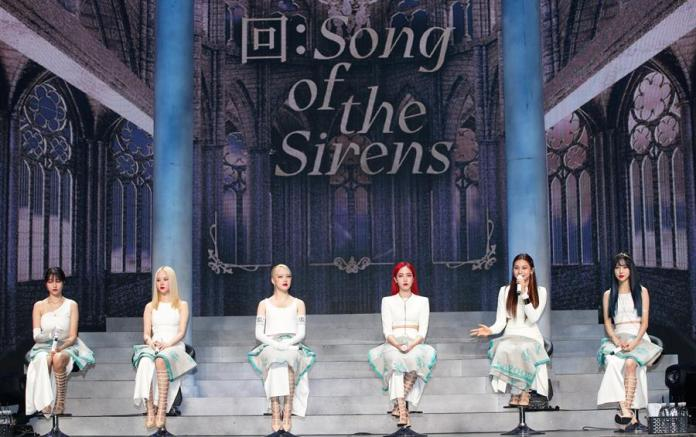 "GFriend presenta su EP ""Song of the Sirens"""