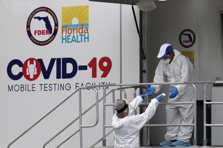 Covid-19-Miami: reportan 54 muertos y 8.409 infectados en 24 horas