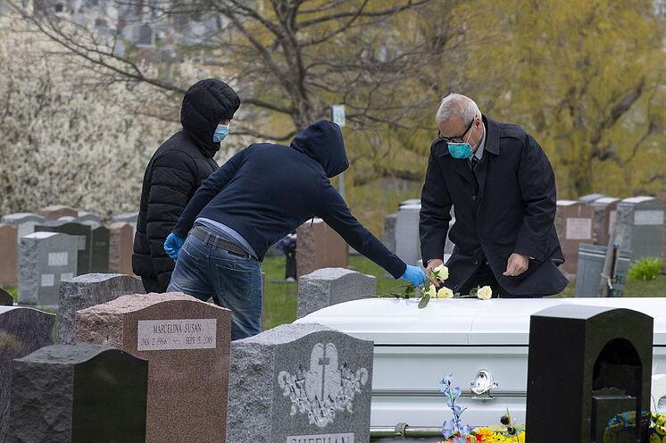 La Pandemia sin control: Estados Unidos 1.367 muertos y 164 mil infectados en 24 horas