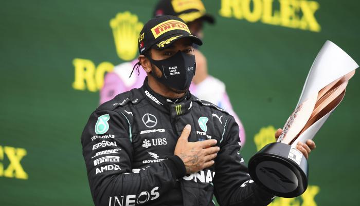 Lewis Hamilton gana en Istanbul Park